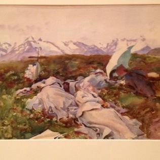 Dolce Far Niente - watercolor